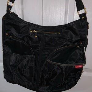 SKIP HOP diaper bag with stroller straps